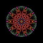 Fractal Pattern Color Kaleidoscope by fantasytripp