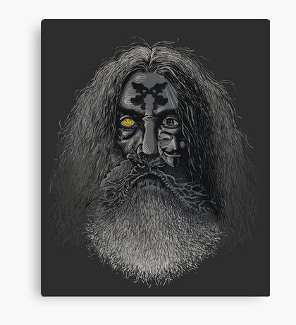 Comic Wizard Canvas Print