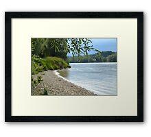 Danube Framed Print