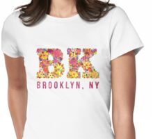 Blooming Brooklyn Womens Fitted T-Shirt