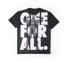 One For All - All Might (white version) Graphic T-Shirt