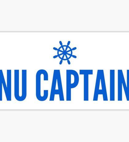 CNU Shipwheel Sticker