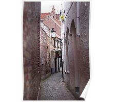 Narrow Street/Pass - Travel Photography Poster
