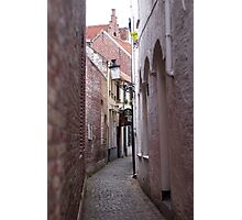 Narrow Street/Pass - Travel Photography Photographic Print