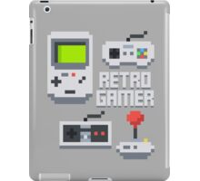 Retro Gamer T Shirt iPad Case/Skin