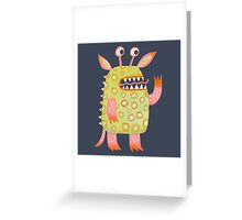 Monster Rufus Greeting Card