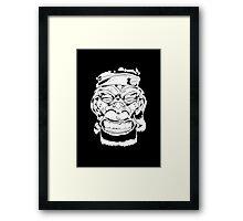 B-Monkey Detective Framed Print