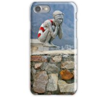 Girl in bathing suit sculpture iPhone Case/Skin