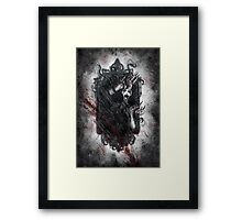Fear of the Dark Framed Print