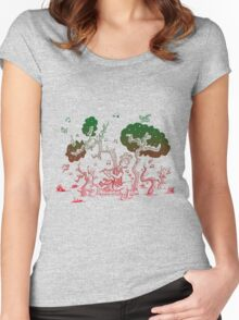 Flute Kid Women's Fitted Scoop T-Shirt