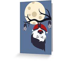 Der kleine Vampir Greeting Card