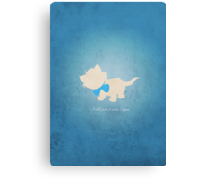 Aristocats inspired design (Toulouse). Canvas Print