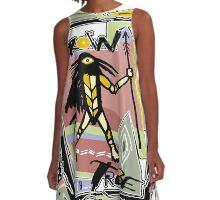 crow dancer A-Line Dress
