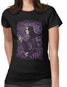 Don't torture yourself Womens Fitted T-Shirt