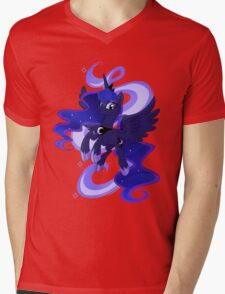 My little woona Mens V-Neck T-Shirt