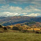 The Kentmere Fells in Winter by VoluntaryRanger