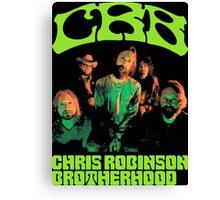 tour date The Chris Robinson Brotherhood time 2016 cl1 Canvas Print