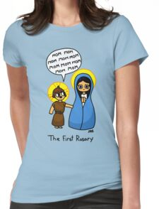 The First Rosary Womens Fitted T-Shirt