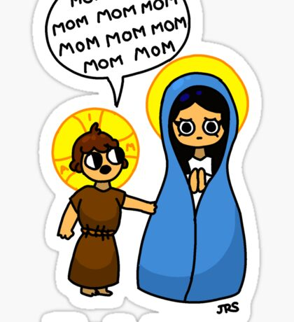 The First Rosary Sticker