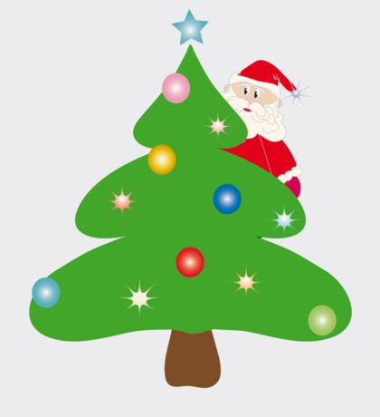 Santa Claus for the tree Sticker