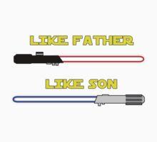 Like Father, Like Son Kids Tee