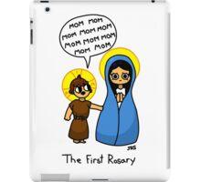 The First Rosary iPad Case/Skin