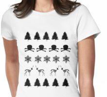 Scary Christmas! #1 Womens Fitted T-Shirt