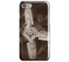 """"""" Old Land Rover ... Engine/Fan """" iPhone Case/Skin"""