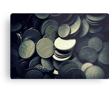 old coins Metal Print
