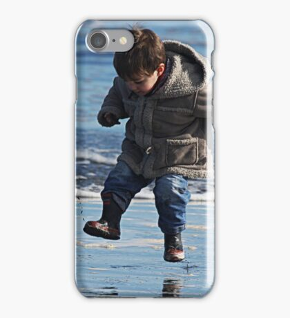 """Jump for Joy !"" iPhone Case/Skin"