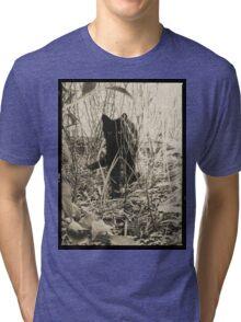 Kitty in Wonderland Tri-blend T-Shirt