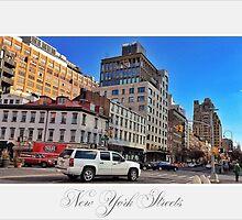 New York Streets by Daniela Cifarelli