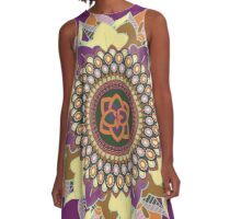 fall mandala A-Line Dress
