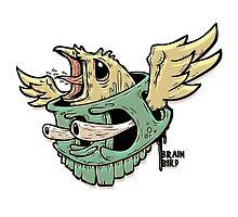Brain Bird by ABANArt