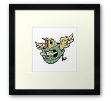 Brain Bird Framed Print