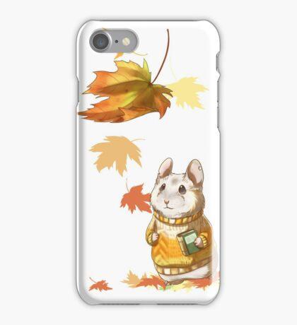 Autumn Hamster iPhone Case/Skin