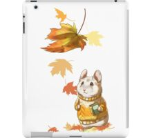 Autumn Hamster iPad Case/Skin