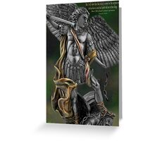 Ƹ̴Ӂ̴Ʒ Archangel Angel Michael (biblical) Ƹ̴Ӂ̴Ʒ Greeting Card