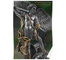 Ƹ̴Ӂ̴Ʒ Archangel Angel Michael (biblical) Ƹ̴Ӂ̴Ʒ Poster