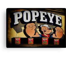 Popeye A Favorite Memory Of Mine Picture Card ect..15 SALES Canvas Print