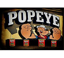 Popeye A Favorite Memory Of Mine Picture Card ect..16 SALES Photographic Print