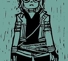 """Romona Flowers ( from """"Scott Pilgrim Vs. The Universe"""" by Bryan Lee O'Malley ) by daisydave"""
