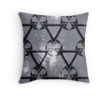 Triangle Galactic Throw Pillow