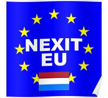 NEXIT Nederlands Holland leave EU Poster