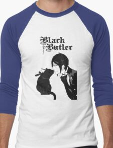 black butler Men's Baseball ¾ T-Shirt