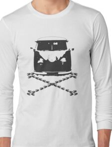 Split and Crossbones Long Sleeve T-Shirt