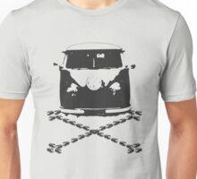 Split and Crossbones Unisex T-Shirt