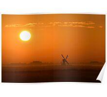 Texel Sunrise Poster