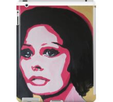 The sad woman iPad Case/Skin