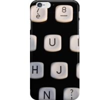 i like on old typewriter iPhone Case/Skin